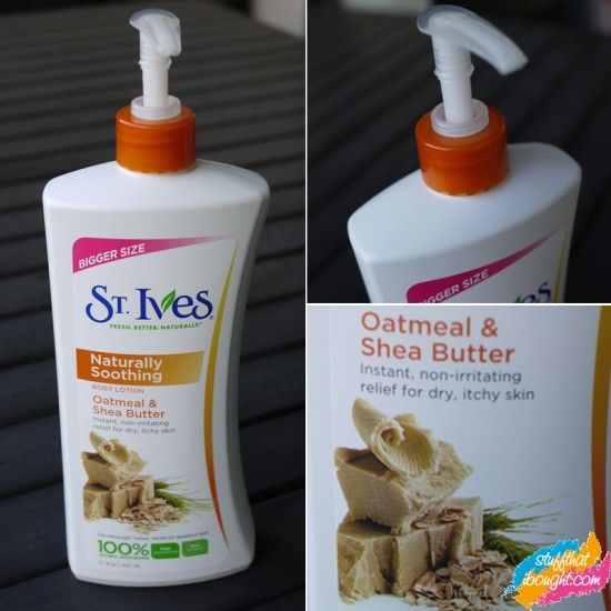 St Ives Naturally Soothing Oatmeal and Shea Butter Body Lotion