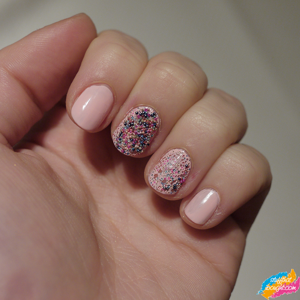Ciate Caviar Manicure: Ciate Caviar Manicure Almost All Chipped Off