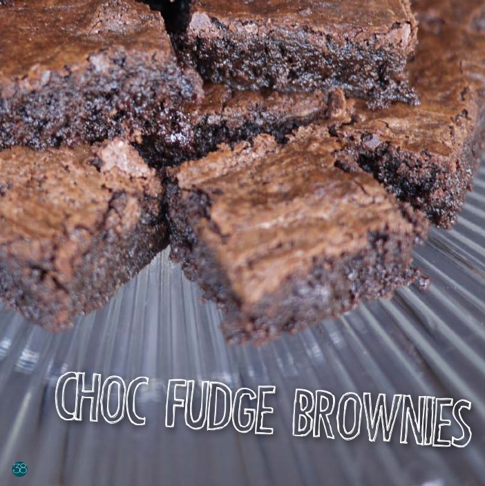The Potluck Club e-cookbook Choc Brownies Elise Phillips
