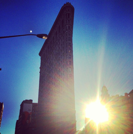 New York Flatiron Building Instagram