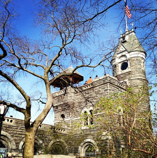 Belvedere Castle in Central Park. Home of Belvedere Vodka (no it's not...that's just silly)